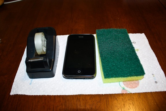 iPhone Brushing - The Supplies